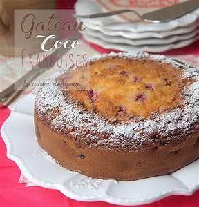 Noix De Coco Recette : gateau noix de coco framboise recettes faciles recettes ~ Dode.kayakingforconservation.com Idées de Décoration