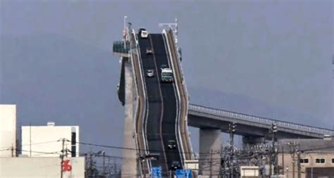 terrifying bridge   world    japan