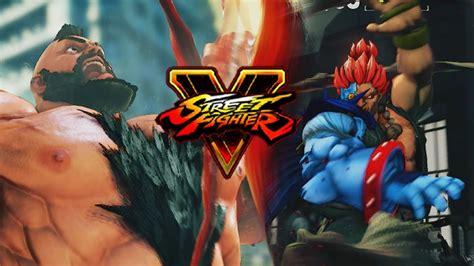 The Demon Zangiefeat It Akuma  Street Fighter 5