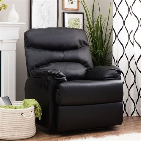 Lazy Boy Armchair Covers by Black Leather Arm Chair Recliner Recliners Lazy Armchairs