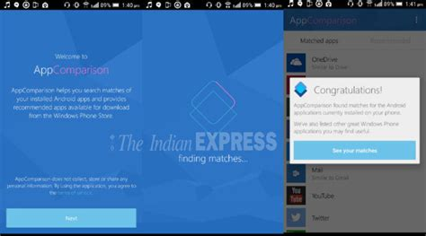 microsoft launches a new appcomparison app on play store technology news the indian