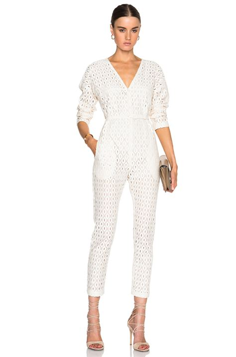 white jumpsuit with sleeves white lace sleeve jumpsuit for foto
