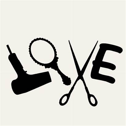 Scissors Dryer Blow Hair Stylist Salon Sign