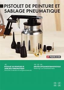 Prix D Un Sablage : mode d 39 emploi parkside kh 3040 air sandblasting gun ~ Edinachiropracticcenter.com Idées de Décoration