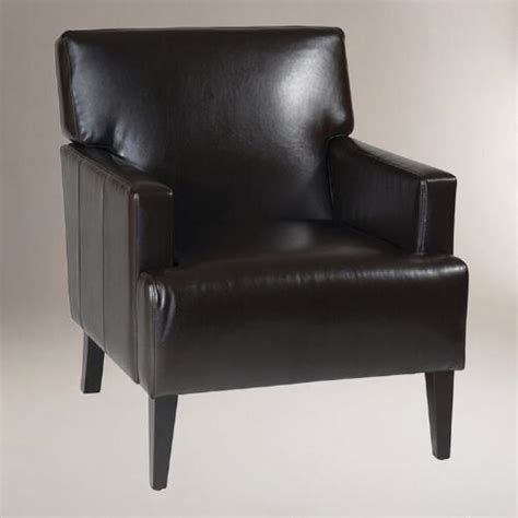 world market chairs leather leather jonathan armchair world market