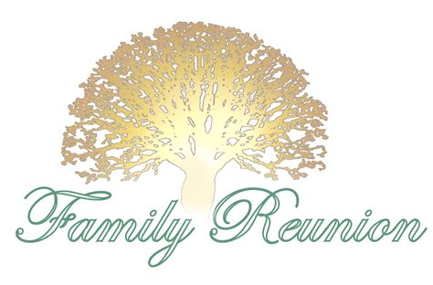 family reunion logo templates family reunion planning guides apps and books may 2011