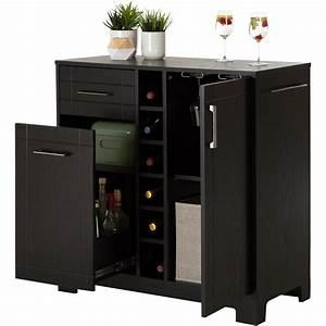 bars bar cabinets walmartcom With home bar furniture walmart