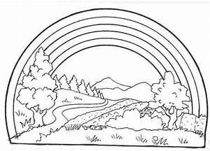 Regenbogen Zum Ausmalen : regenbogen malvorlagen kostenlos zum ausdrucken ausmalbilder regenbogen 2012557 ~ Buech-reservation.com Haus und Dekorationen