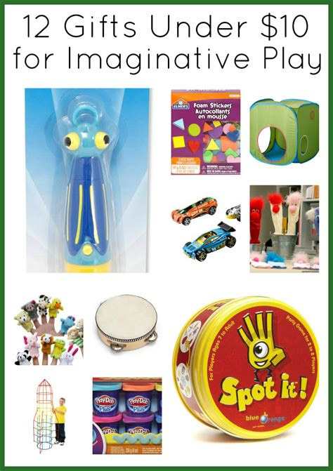 12 christmas gifts under 10 for imaginative play