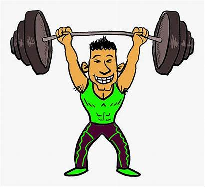 Lifting Weights Clipart Weight Cartoon Weightlifting Lift