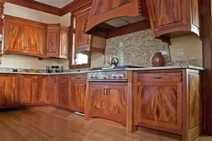Mahogany kitchen - Eclectic - Kitchen - by Corlis Design