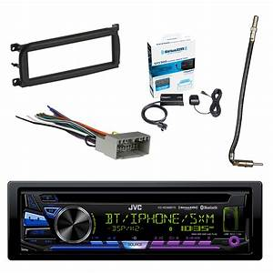 Jvc 1 Am  Fm Car Stereo With Sirius Radio