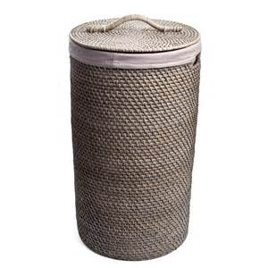 bridal shower gift registry rattan laundry medium grey