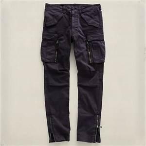 Rrl Skinny Cargo Pant in Black for Men   Lyst