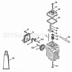 Stihl Fc 100 Edger  Fc 100  Parts Diagram  Valve Timing Gear