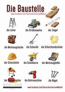 Baustelle Deutsch Wortschatz Grammatik Deutsch