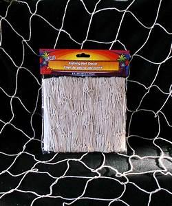 Nip luau natural color fishing net nautical wall
