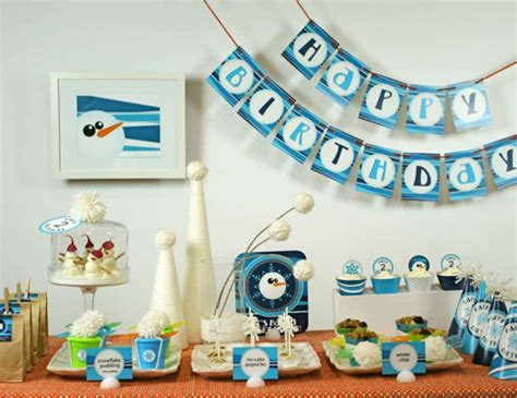 Flurry Of Fun Winter Theme / Birthday
