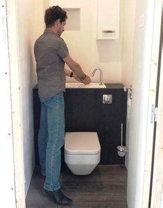 Wc Lave Intégré Wici Bati Pack Wc Suspendu Avec Lave Mains Int 233 Gr 233 Salle De Bain And Toilet