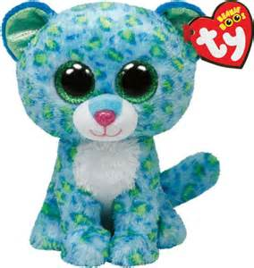 rainbow fish book leona blue leopard beanie boo 8421367429 item