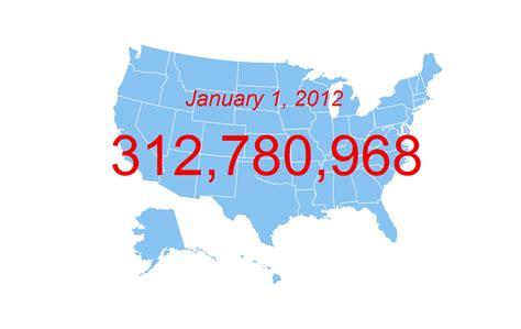 the bureau of census census bureau projects u s population of 312 8 million on