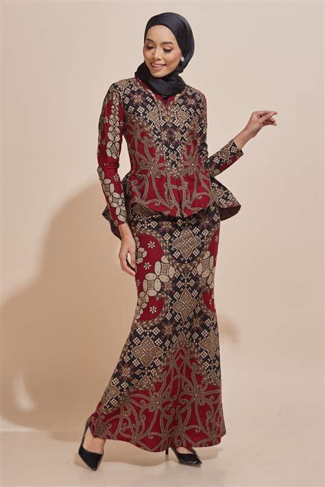 kaisara kebaya peplum batik code ks13 habra fashion