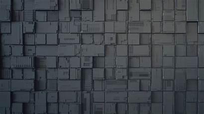Abstract Dark Cubes Geek 4k Wallpapers Circuit