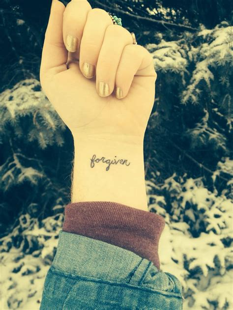 christian wrist tattoos ideas  pinterest