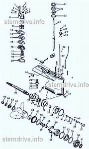 Mercury Outboard Parts Drawing 65 N 1 To 25
