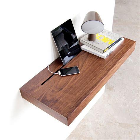 canapé tiroir lit tablette murale pour recharger et ranger smartphones et