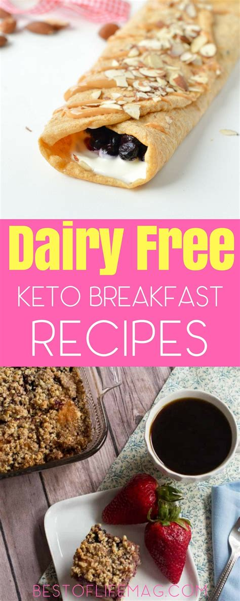 You don't need dairy or eggs to throw a great brunch. Dairy Free Keto Breakfast Recipes - Best of Life Magazine