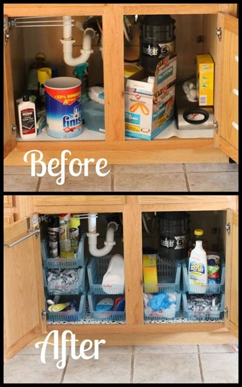 bathroom cabinet organizer ideas sink cabinet organization must do kitchen