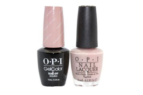 Opi Gelcolor + Matching Lacquer Tiramisu For Two #v28