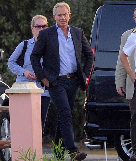 Blair Car Rental by Peace Envoy Tony Blair Arrives On Luxury Yacht In Sardinia