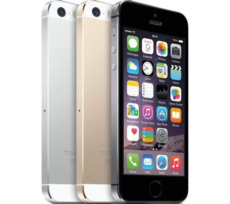 iphone 5s 32gb buy apple iphone 5s 32 gb silver free delivery currys