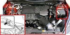 Fuse Box Diagram Mazda 2  De  2007