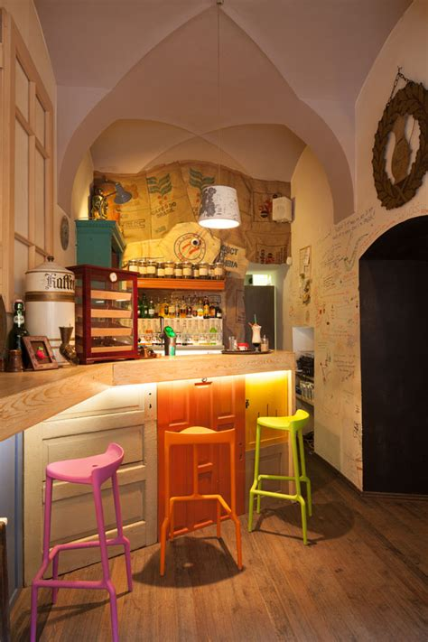 eclectic coffee shop design   heart  transylvania