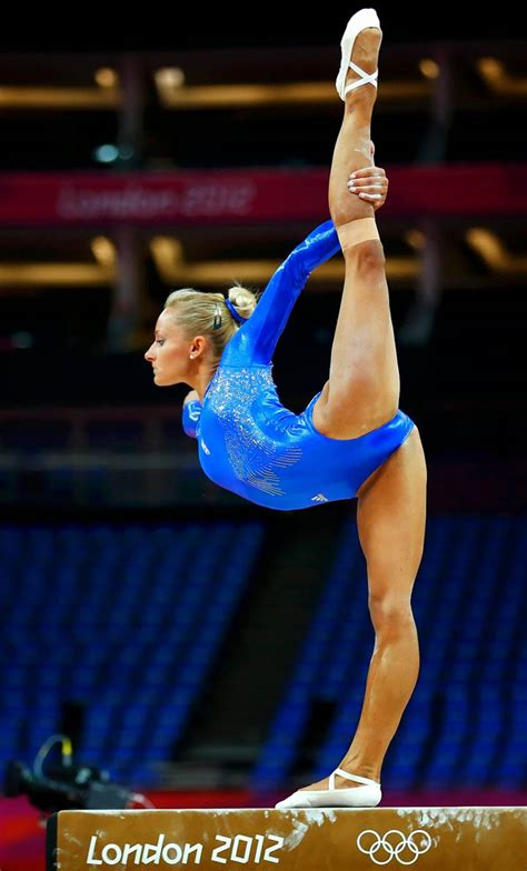 top  hottest   talented female gymnasts