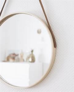 Miroir Rond Laiton : comment fabriquer un miroir rond shake my blog ~ Teatrodelosmanantiales.com Idées de Décoration