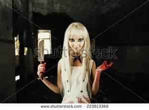 Evil Woman Smiling