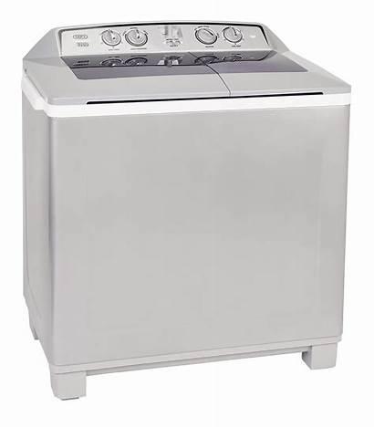 Washing Tub Machine Twin Defy Machines Metallic