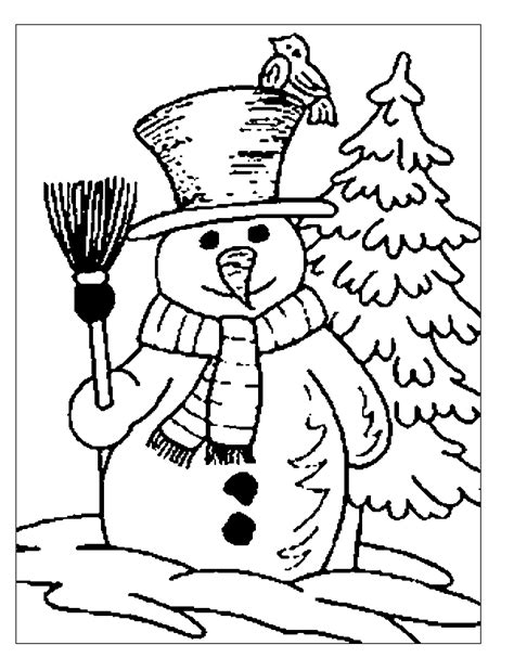 December Coloring Pages | Coloring Pages - Part 21