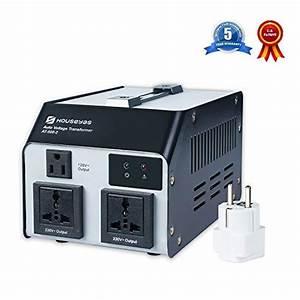 Houseyas 500 Watt Voltage Transformer Converter