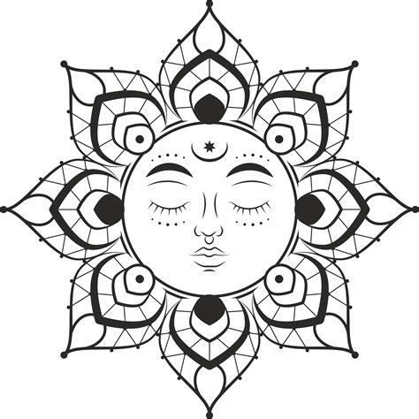See more ideas about mandala, free svg, mandala svg. Mandala Sun Free Vector cdr Download - 3axis.co