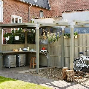 Sichtschutz Holz Balkon : holz sichtschutz zaun atrium taupe ~ Orissabook.com Haus und Dekorationen