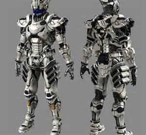 Powered Exoskeleton Suit Anime
