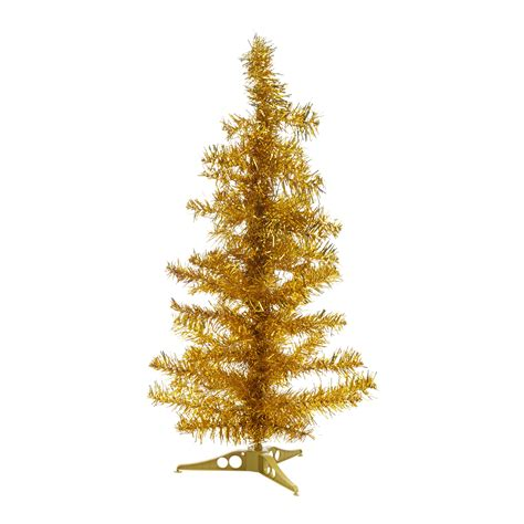 christmas tinsel tree xmas window decoration ornament