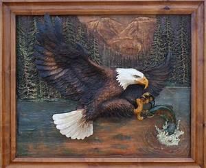 Custom Wood Carving - Wood Relief Carvings
