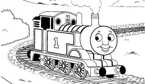 Thomas Friends Colouring Pages Easier
