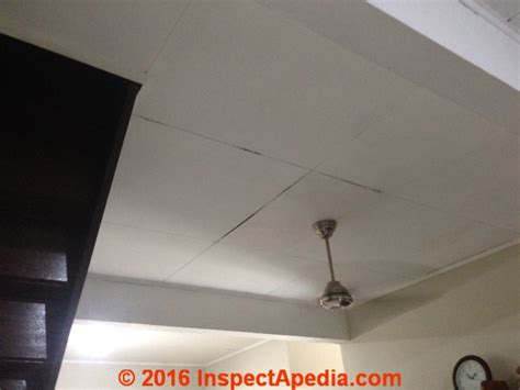 asbestos suspect acoustic ceiling tiles cover up exle